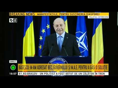Ultimele mesaje ale lui Traian Băsescu