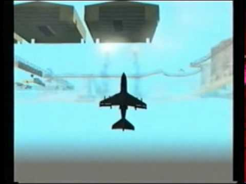 GTA SAN ANDREAS FLY  THE HYDRA JET UNDERMAP
