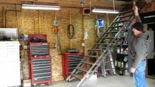Play Louisville Ladder Attic Ladder Installation Video