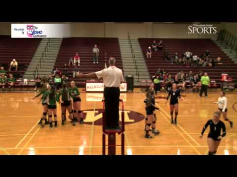 The Woodlands vs. Concordia Lutheran Volleyball Highlights