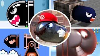 Evolution of Bullet Bill in Mario Games (1985 - 2018)