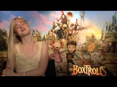 "Elle Fanning Talks About ""The Boxtrolls"""
