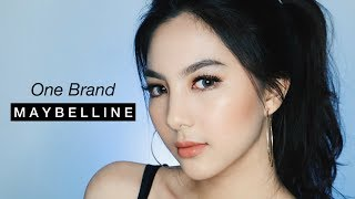 ONE BRAND MAYBELLINE / Easy Glowing Bronze Makeup Tutorial ✨