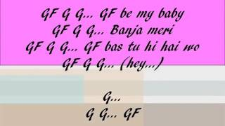 Gf bf full lyrics video