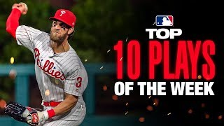 Bryce Harper with the cannon! | MLB's Top 10 Plays of the Week (9/9 to 9/15)