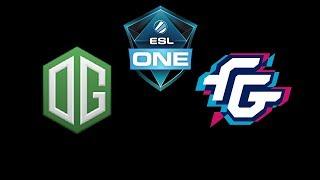 OG vs Forward Gaming ESL One Katowice 2019 Highlights Dota 2