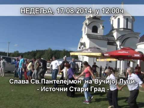 TV DUGA PLUS NAJAVA - Vucija Luka Slava Sveti Pantelejmon (Nedelja, 17.08. u 12h)