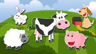 Desene Animate Educative - La Ferma - ANIMALELE DOMESTICE - Animatii TV