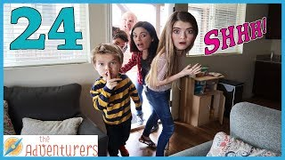 24 Hours - Sneaking Into Audrey's Apartment! (Gone Wrong!) / That YouTub3 Family   The Adventurers