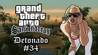"""GTA San Andreas Detonado """"Triple Kill...Adeus T-Bone,Ryder e Toreno!"""" #34"""