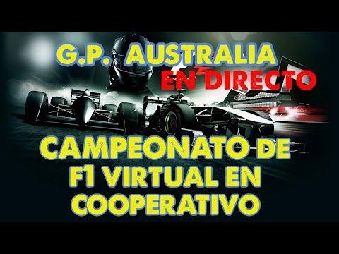 CAMPEONATO FORMULA ONE 2014 YOUTUBERS #1 (F1 2013) en directo | GP AUSTRALIA