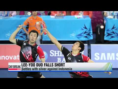 Lee Yong-dae-Yoo Yeon-sung finish with disappointing silver   이용대-유연성, 아쉽게 은메달