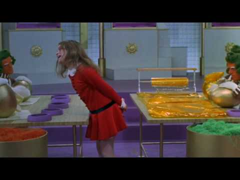 Veruca Salt - I Want It Now (Willy Wonka and the Chocolate Factory) Video