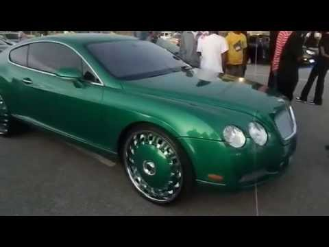 Og Boo Dirty's Bentley Coupe On Dub Opera's #whippaparazzi video
