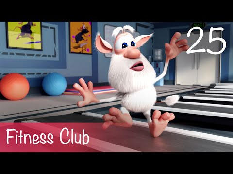 Booba - Fitness club - Episode 25 - Cartoon for kids thumbnail