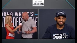 Dana White Announces Contender Series UFC Contract Winners - Week 1 | Season 3