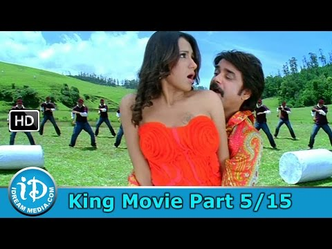 King Telugu Movie Part 515 - Nagarjuna Trisha Mamta Mohandas