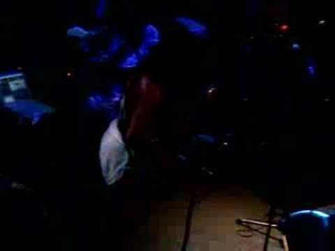 Blackbyrd McKnight Cosmic Slop Intro in Dublin Ireland 2007