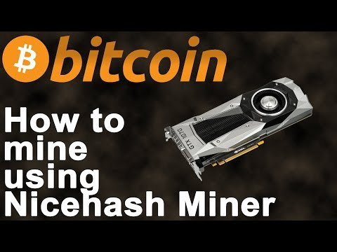 How to Mine Crypto Currencies with Nicehash Miner (Get paid in Bitcoin)