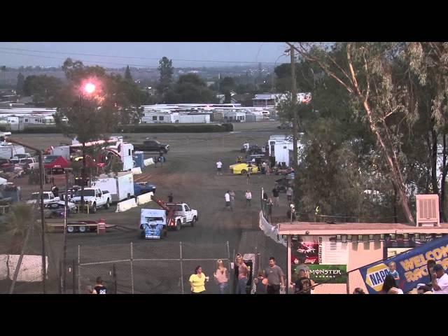 Bakersfield Speedway Heats 9-14-13