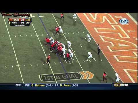 Joseph Randle vs Texas 2012