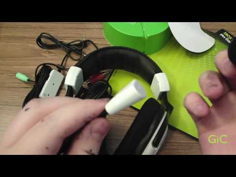 Turtle Beach Ear Force X11 Gaming Headphones for Xbox 360 Unboxing/ Setup
