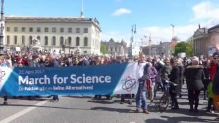 March for Science Berlin 2017 Unter den Linden