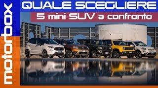 Duster, Ecosport, Renegade, Jimny, 500X: guida all'acquisto dei mini SUV