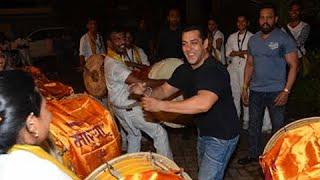 Salman Khans Ganpati Visarjan DANCE 2015 UNCUT
