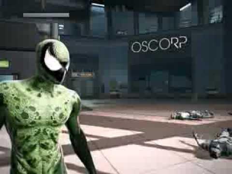 The Amazing Spider-Man Lasher Symbiote skin