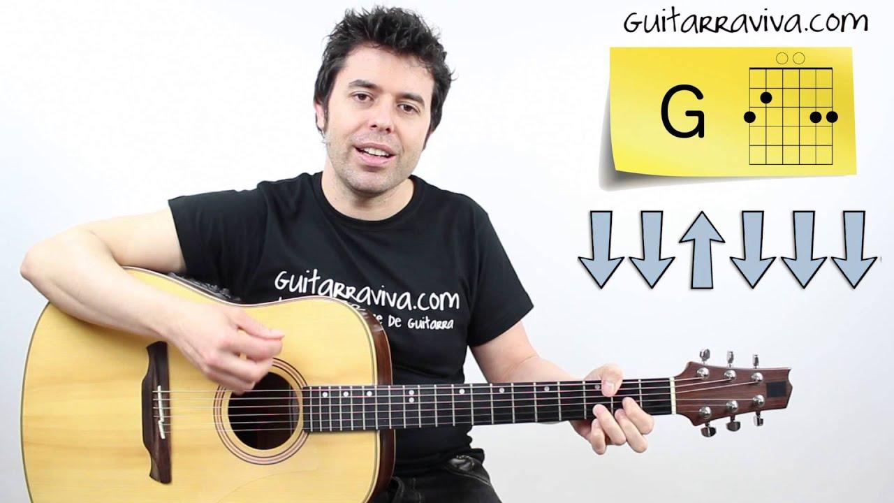 de musica ligera tutorial guitarra completo con acordes y