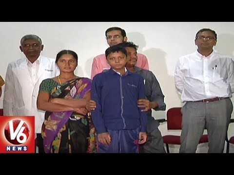 Hyderabad NIMS Doctors Performs First Live Liver Transplant On A School Kid | V6 News