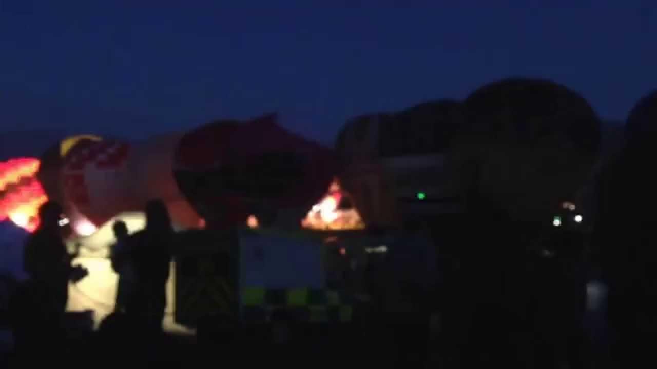 Bristol Balloon Fiesta Night Glow Bristol Balloon Fiesta 2015
