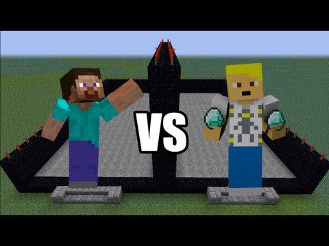 Minecraft: Hızlı Yapı Kapışmaları - Bölüm 17 - Fake_Dead vs LeafLook - Redstone II [Turkish/Türkçe]