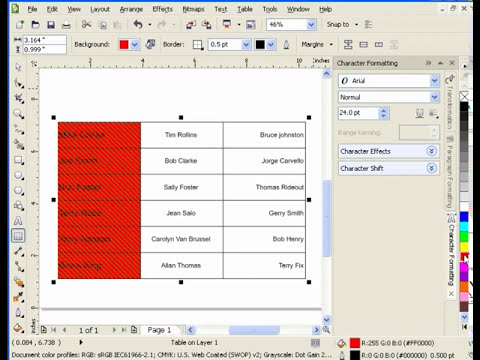 Working with Tables in CorelDraw.mp4
