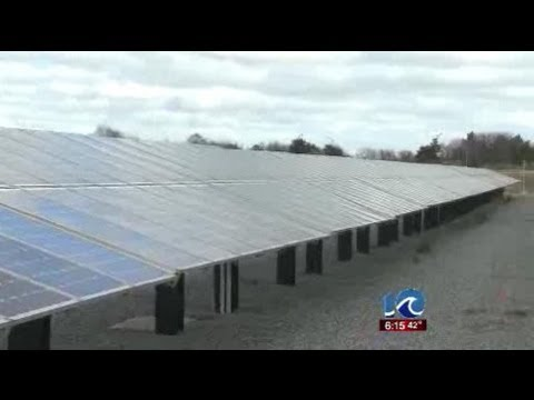 Navy builds solar panels