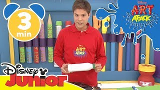 Art Attack Bastelclip #12 - Das Monsterinsekt | Disney Junior