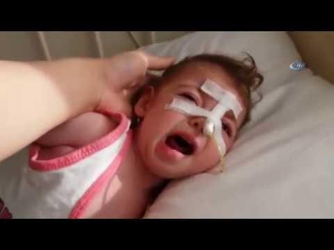 Epilepsi Hastası Minik Hira Nur'un Çığlıkları Yürek Burkuyor