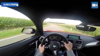 POV BMW M235i 326 HP | Sound Acceleration Test Drive