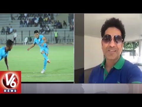 Sachin, Kohli Respond To Sunil Chhetri's Appeal Seeking Indian's Support For Indian Football | V6