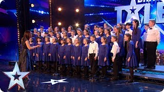 Love Willy Wonka? Step into a world of pure imagination with STUNNING choir!   Auditions   BGT 2018