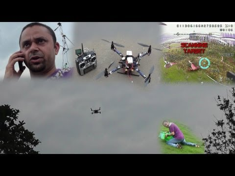 RC Quadcopter -- Search and Rescue Mission