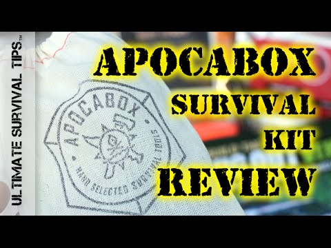NEW! ApocaBox Subscription Based Survival Kit - REVIEW - Does it Rock or Reak? You Decide...