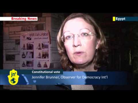Egypt Constitutional Referendum: Day one of voting comes to an end in Egypt amid hope and violence