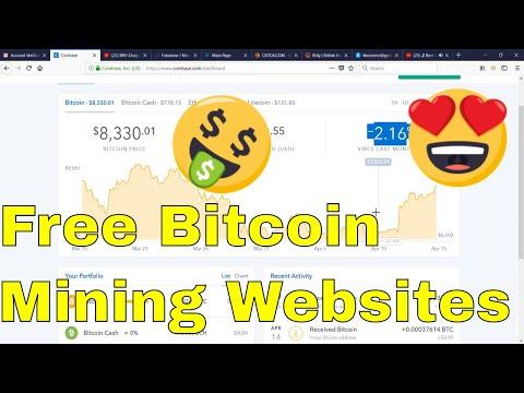 Free 3 sites Bitcoin Mining 2018 Bitcoin Pool Auto Mine NO INVESTMENT