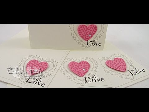 KISS Easy Valentine Cards To Make Stampin Up Spring