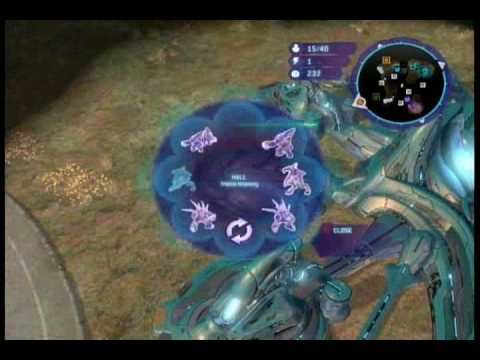 Halo Wars Strategy - Brute Chieftain Infantry Assault (Part 1)