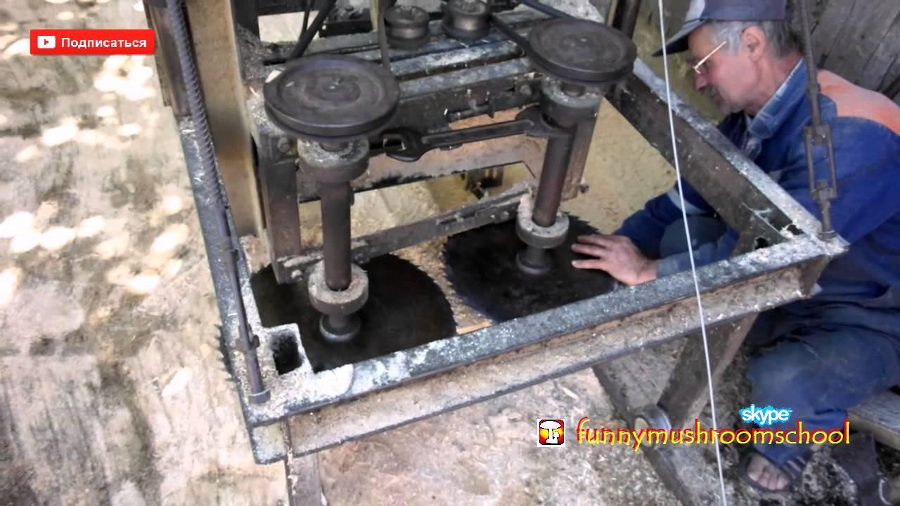 Пилорама из электродвигателя своими руками