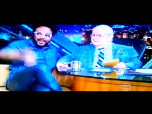 Caio responde ao carinho do Humorista Marcelo Marrom, mencionado no Programa do Jô.
