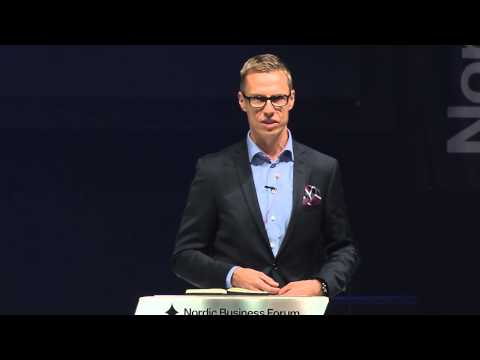 Nordic Business Forum 2013 - Alexander Stubb - The Art of Going International